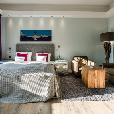 Zimmer f r zwei bis drei personen auf sylt hotel villa for Design hotel 54 nord